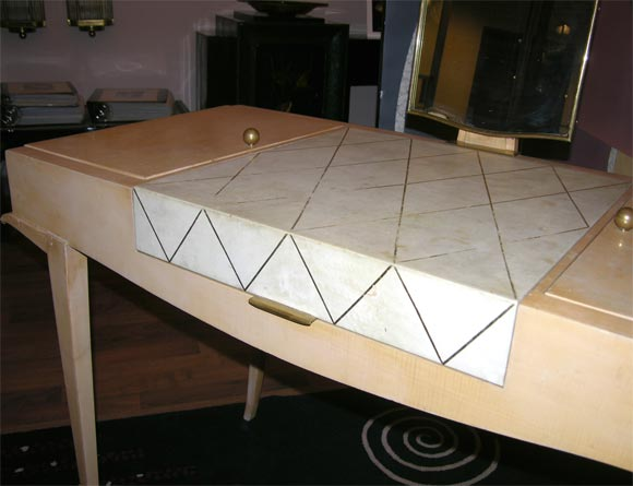 Rare Art Deco Vanity by Maxime Old For Sale 1