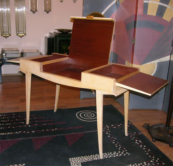 Rare Art Deco Vanity by Maxime Old For Sale 3