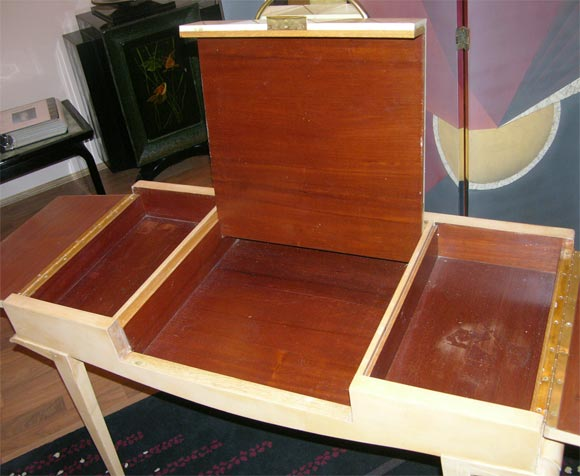 Rare Art Deco Vanity by Maxime Old For Sale 4