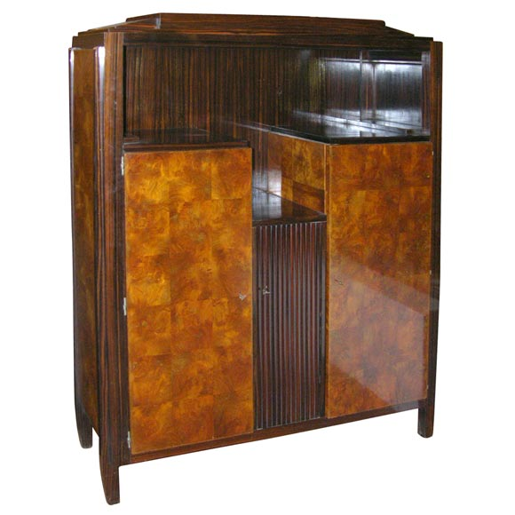 Art Deco Kitchen Cabinets: Art Deco Cabinet By Andre Sornay For Sale At 1stdibs