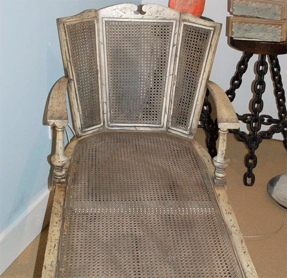 Napoleonic decorative chaise lounge at 1stdibs for Chaise de calvin