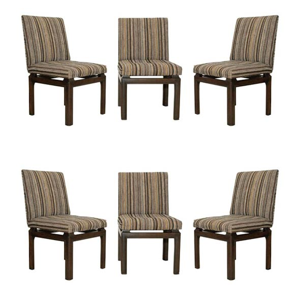Set Of 6 Michael Taylor For Baker Dining Chairs At 1stdibs