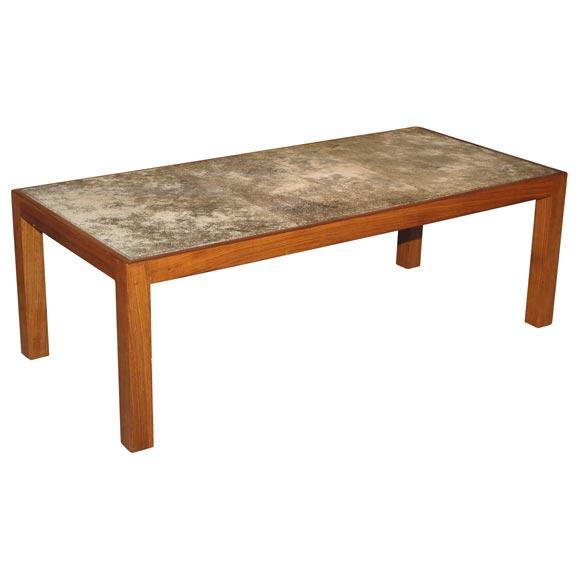 lava tile coffee table at 1stdibs
