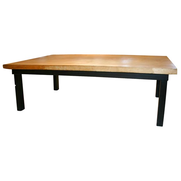 Butcher Block Coffee Table At 1stdibs