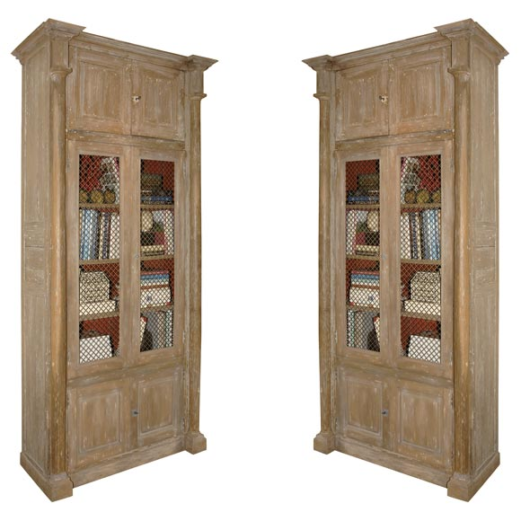 A grand pair of continental etageres at 1stdibs - Etagere cases carrees ...