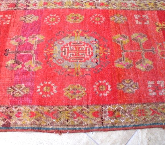 20th Century Antique Khotan Runner For Sale