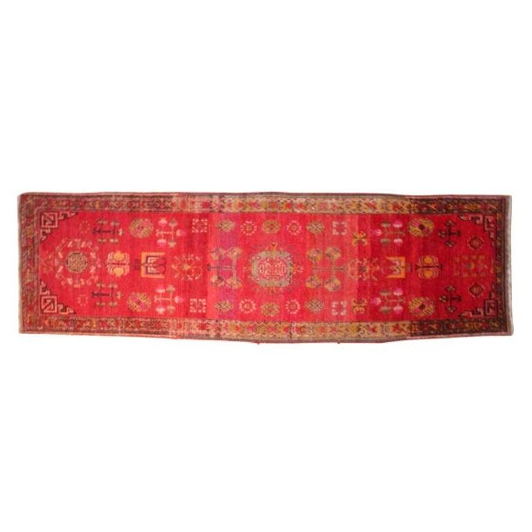 Antique Khotan Runner For Sale