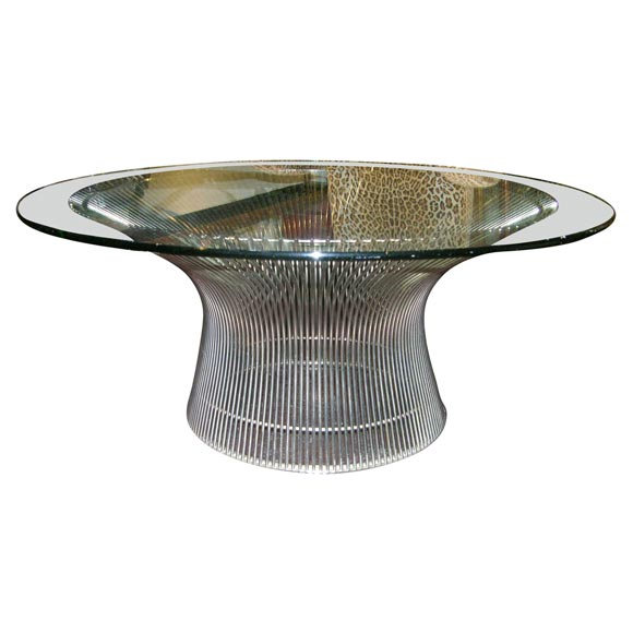 Warren platner knoll coffee table at 1stdibs for Table warren platner