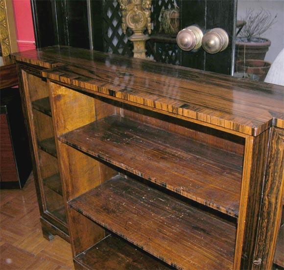 English Regency Coromandel Bookcase At 1stdibs