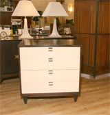 Four-drawer bachelors chest by American of Martinsville image 2