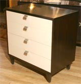 Four-drawer bachelors chest by American of Martinsville image 4