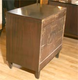 Four-drawer bachelors chest by American of Martinsville image 6