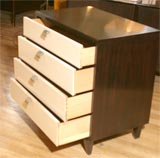 Four-drawer bachelors chest by American of Martinsville image 7