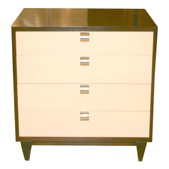 Four-drawer bachelors chest by American of Martinsville