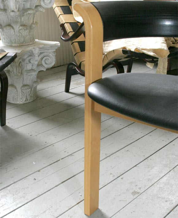 Beech Pair of Chairs by Rud Thygesen and Johnny Sorensen For Sale