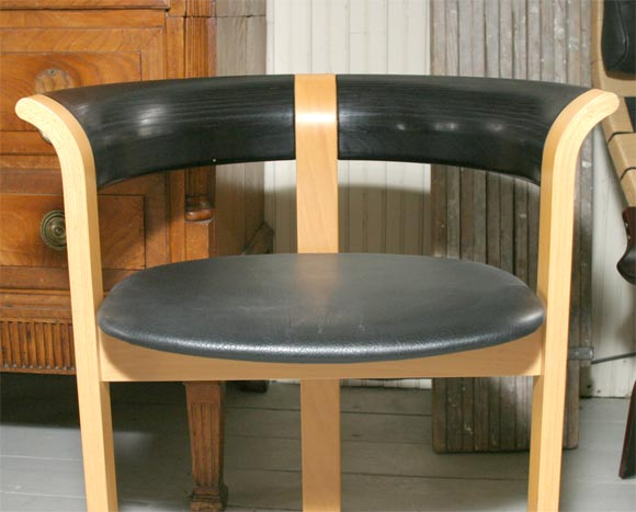 Pair of Chairs by Rud Thygesen and Johnny Sorensen For Sale 2
