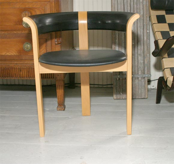 Pair of Chairs by Rud Thygesen and Johnny Sorensen For Sale 3