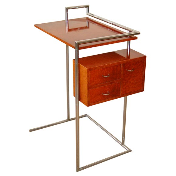 eileen gray dressing table at 1stdibs. Black Bedroom Furniture Sets. Home Design Ideas