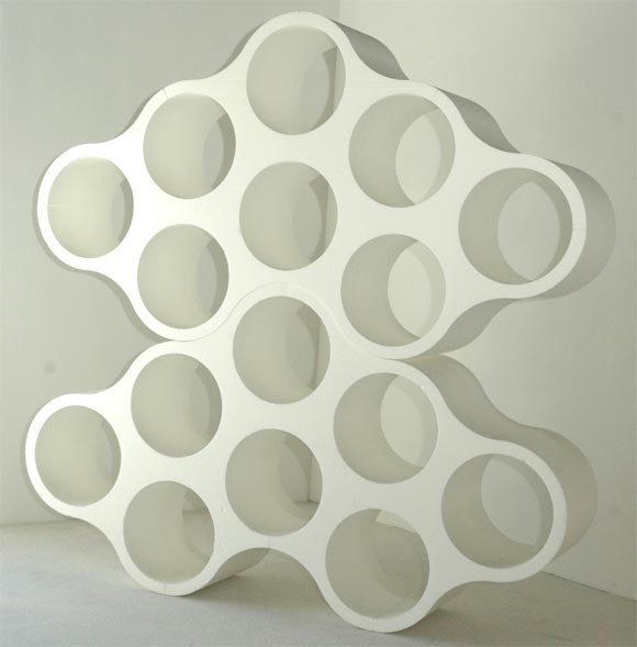 These important pieces come directly from the museum show the Bouroullec Brothers were given at the Museum of Contemporary Art in Los Angeles. Differing significantly from the production version, these pieces are made of polystyrene and were