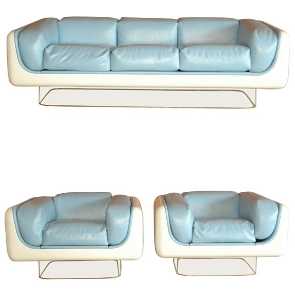 amazing seat lounge modern simple fabric couch small living room ce | Steelcase Sofa and Chairs at 1stdibs