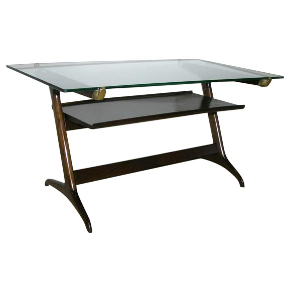 A Cassina Italian Two Tiered Low Table At 1stdibs