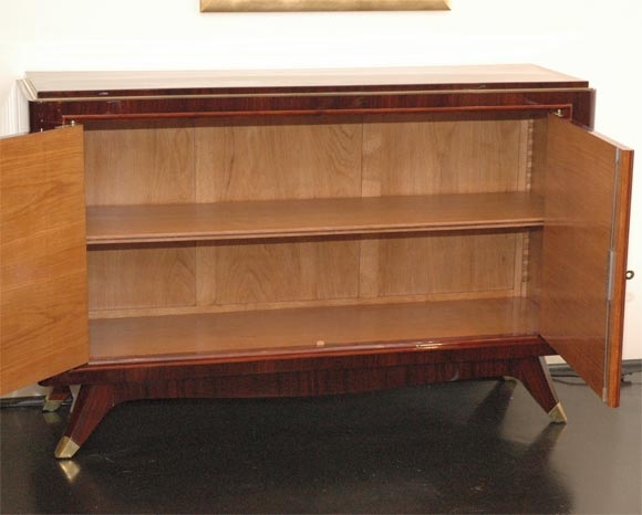 Rosewood and Brass Sideboard by Atelier Gauthier Poinsignon 7