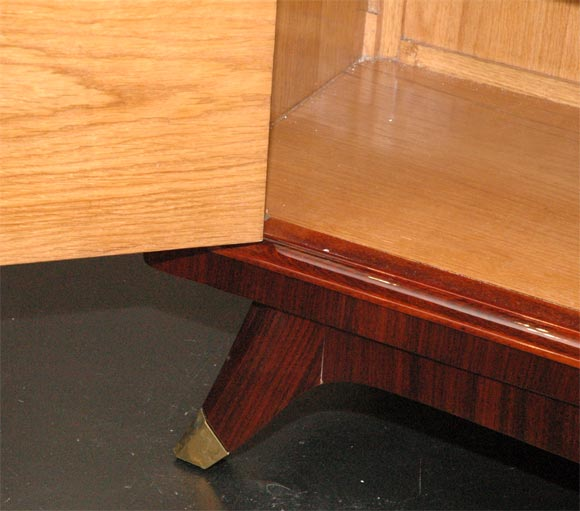 Rosewood and Brass Sideboard by Atelier Gauthier Poinsignon 8