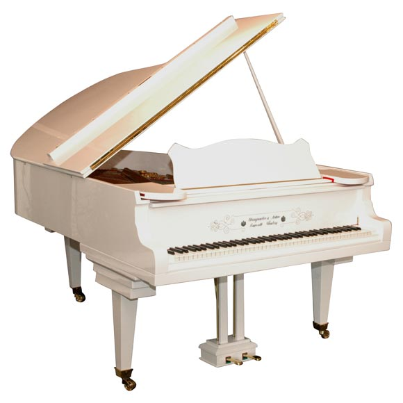 White Piano / Piano Bianco - Song For Guy