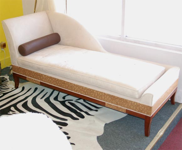 Hollywood glamour chaise designed by susane r at 1stdibs for Chaise de calvin