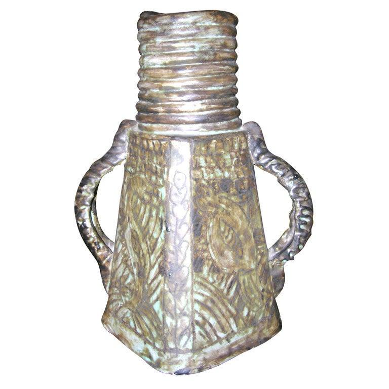 Ceramic Vase by Jerome Massier 1