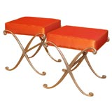 Pair of Chic Stools