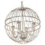 Paul Marra Design Metal Sphere Chandelier