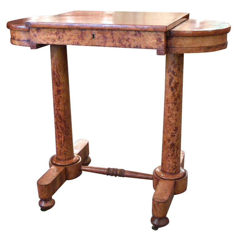 Antique english sewing table at 1stdibs for England table