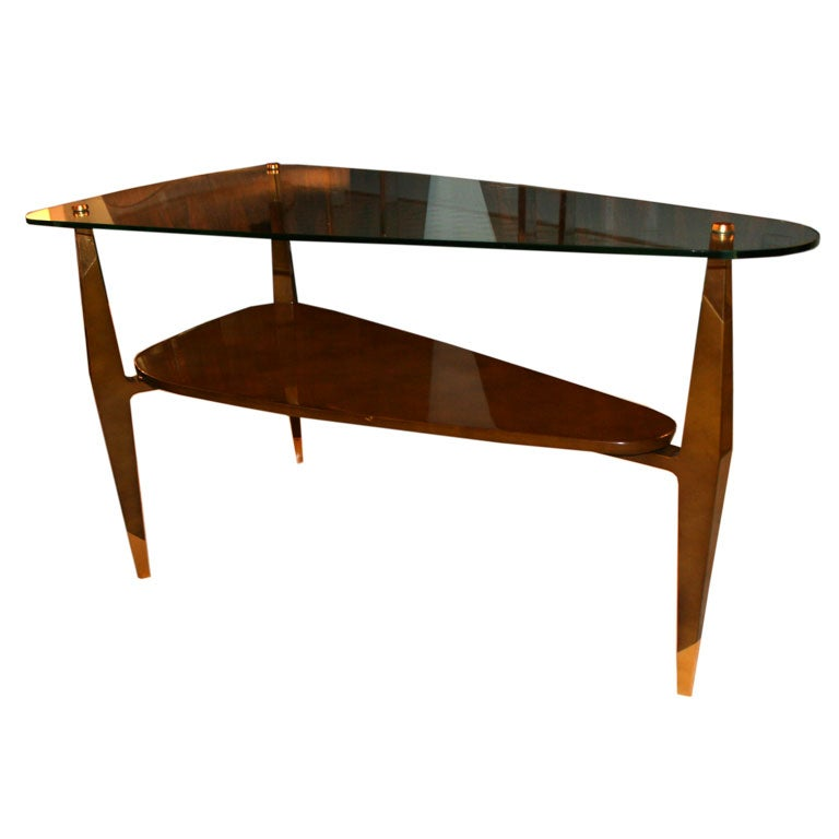 Raphael Triangular Coffee Table at 1stdibs