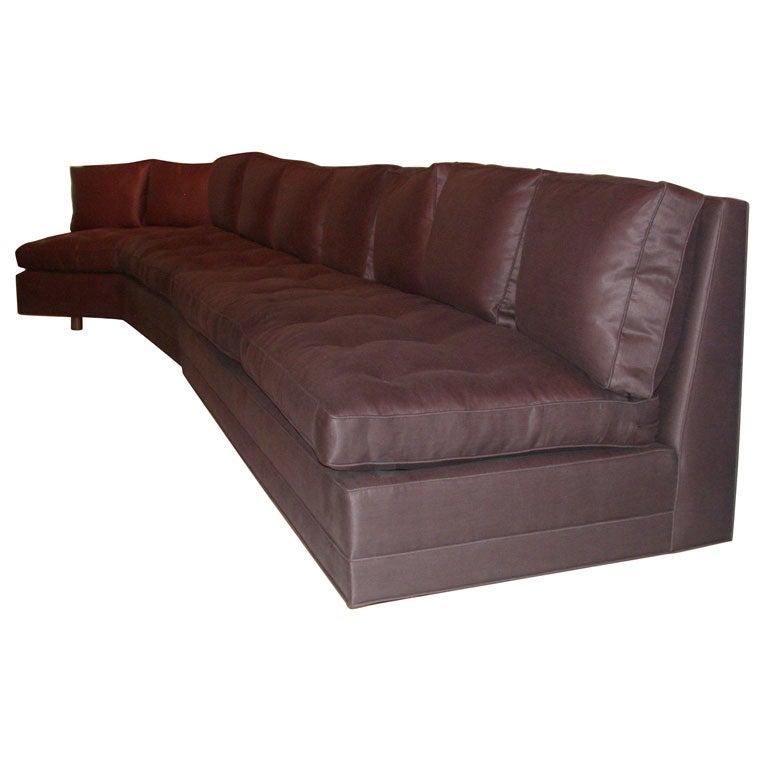 Armless Sectional Sofa