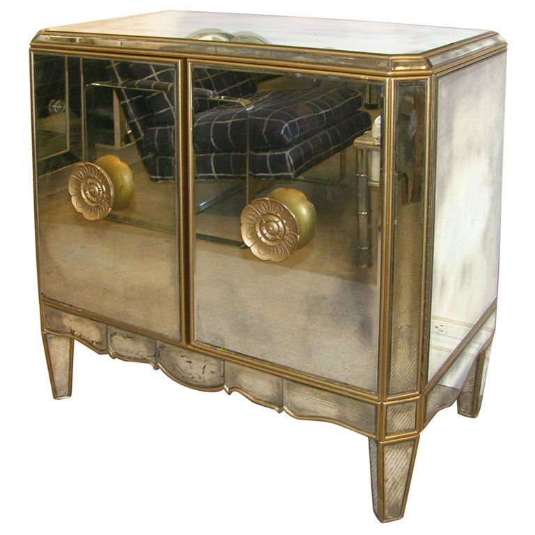 art deco bathroom mirror cabinet deco mirrored cabinet at 1stdibs 10759