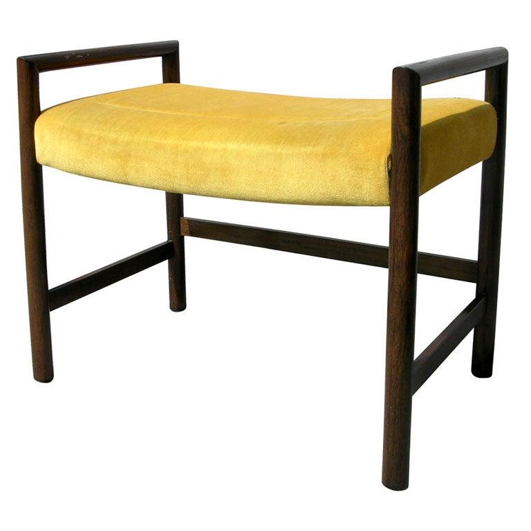 Edward Wormley for Dunbar vanity stool bench at 1stdibs
