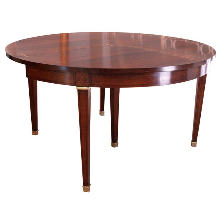Directoire revival gateleg dining table at 1stdibs for Gateleg dining table