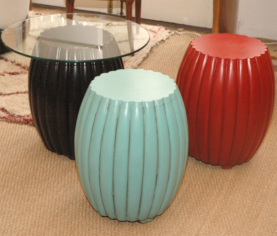 Chinese Barrel Stools Side Tables At 1stdibs