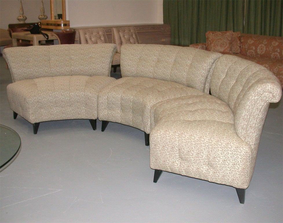 Stunning 3 Piece Sofa Attributed To Billy Haines At 1stdibs