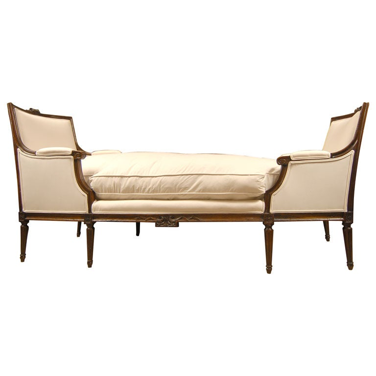 18th 19thc double chaise lounge at 1stdibs for Chaise lounge atlanta