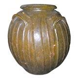 19th Century French Walnut Oil Vessel