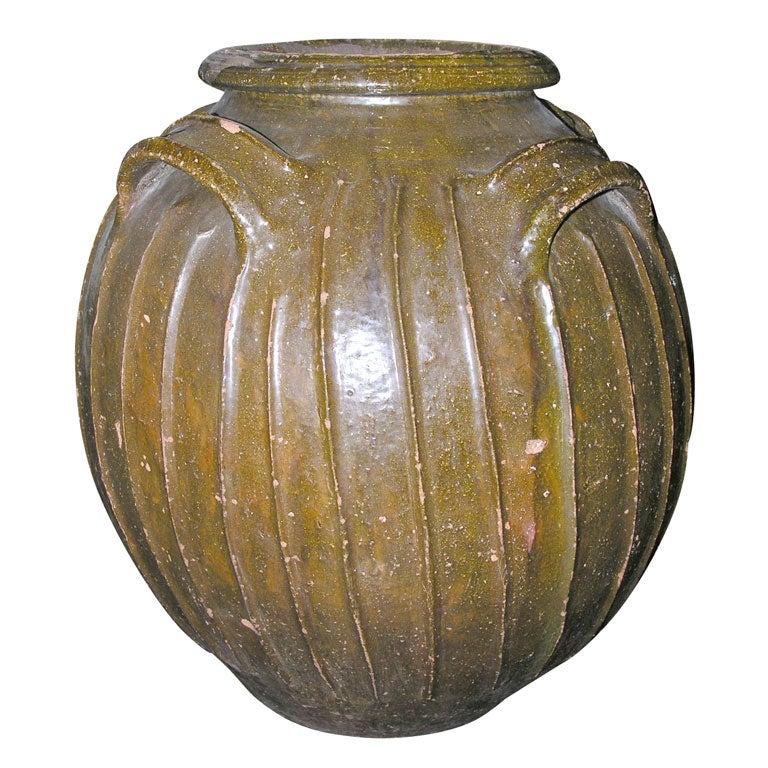 19th Century French Walnut Oil Vessel 1