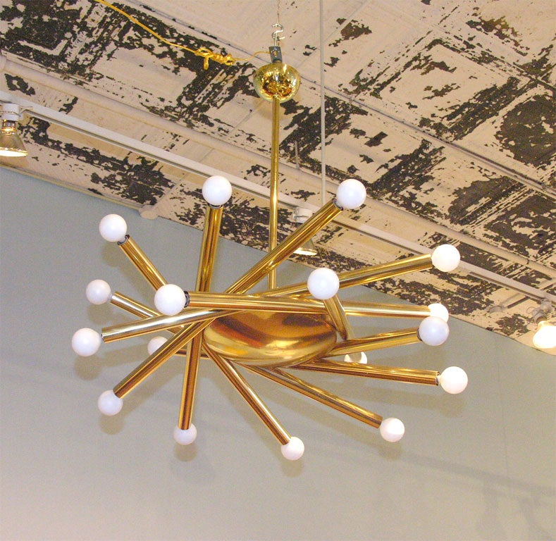 Starburst Hanging Fixture At 1stdibs