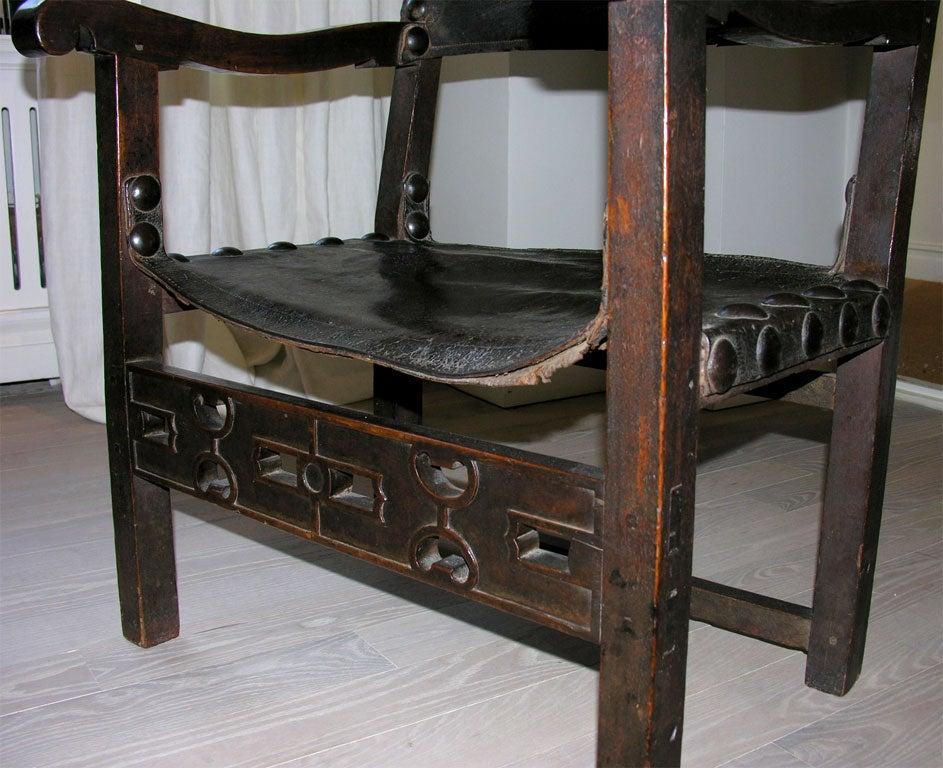 Spanish Armchair 18th Century Spanish Armchair At 1stdibs
