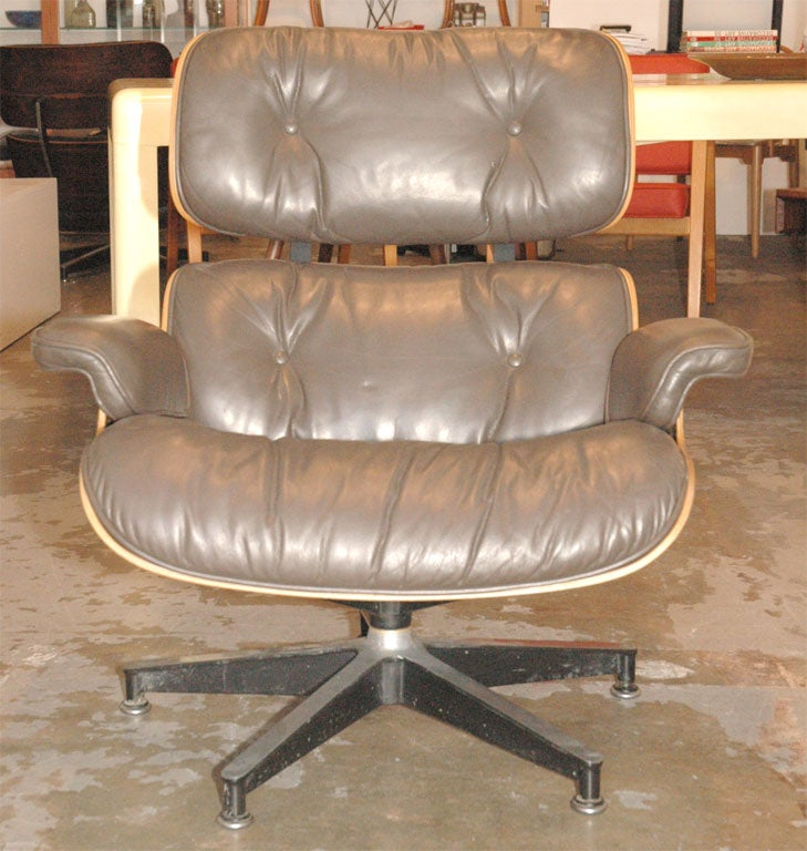 Eames Lounge Chair and Ottoman at 1stdibs