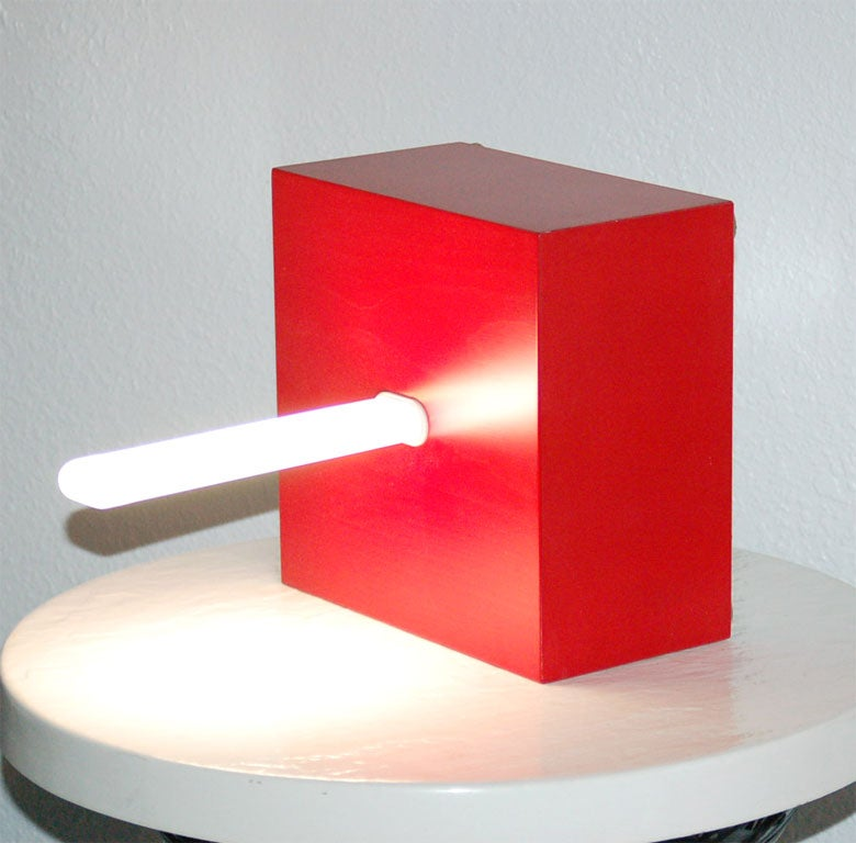 WALL MOUNTED/TABLE LAMP BY ETTORE SOTTSASS at 1stdibs