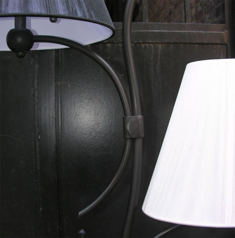 Pair of French Art Moderne Floor Lamps For Sale 6