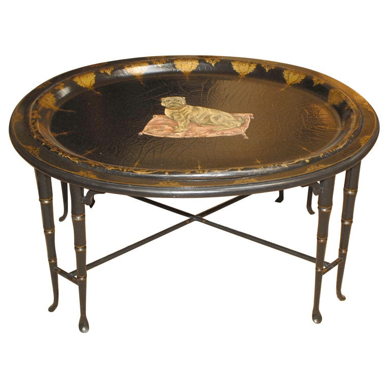 English Regency Cocktail Table At 1stdibs
