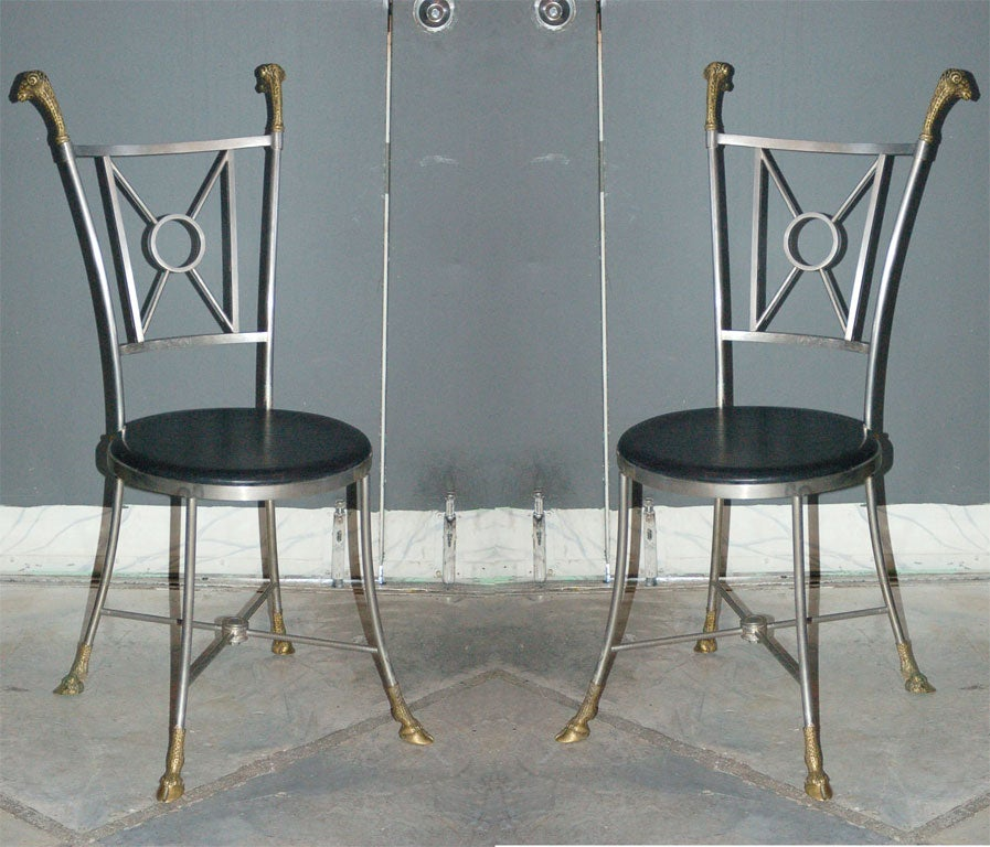 Maison Jansen Side Chairs For Sale At 1stdibs